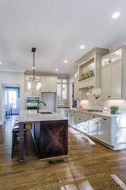 gray brown stained kitchen cabinets parade of homes tour marsh kitchens