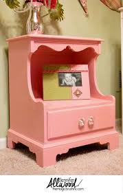 Refinishing Furniture Ideas Best 25 Pink Nightstands Ideas On Pinterest Pink Furniture