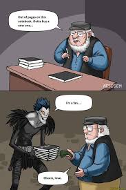 Memes About Death - out of pages death note know your meme