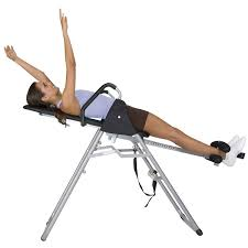 Inversion Table For Neck Pain by Body Champ It8070 Inversion Therapy Table Amazon Co Uk Sports