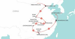 China On A Map by China Tours Escorted Private U0026 Group Tours Of China Wendy Wu Tours