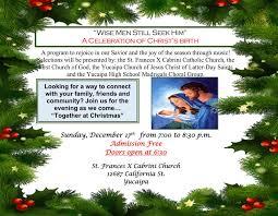 Yucaipa Christmas Lights St Frances X Cabrini Church Yucaipa Home Facebook