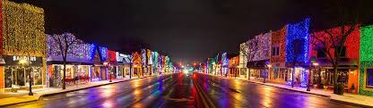 christmas lights in michigan rochester christmas light display photograph by twenty two north