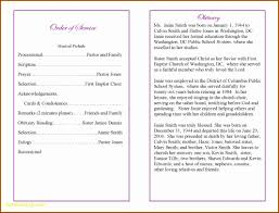 sle funeral programs luxury funeral program templates free best templates