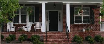 Ranch House Front Porch by Addition Front Porch Addition Ranch House Furthermore Red Brick House