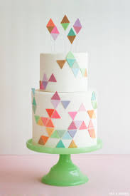 trending geometric patterns geometric cake cake designs and cake