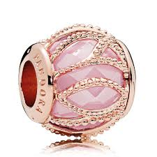 rose gold bracelet charm images Pandora rose gold pink cz intertwining radiance charm