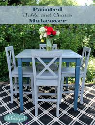 art is beauty funky farmhouse rescued table and chairs painted