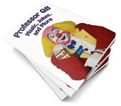 photos and professor qb magic and joke booklet professor qb