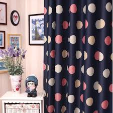 Kid Blackout Curtains Romantic Navy Blue Yarn And Poly Blackout Curtains For Kids Buy