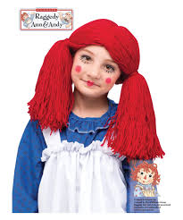 toddler halloween wigs raggedy ann and andy ann girls toddler halloween costume best 25