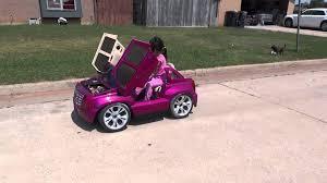power wheels cadillac escalade custom edition power wheels escalade lambo doors stance lowered
