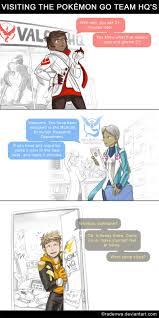 Help Desk Funny Stories Visiting The Pokemon Go Team Hq U0027s By Radenwa On Deviantart