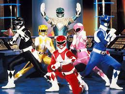 mighty morphin power rangers cast wallpaper