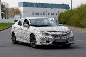 inside of a honda civic 2017 honda civic spyshots reveal interior design autoevolution