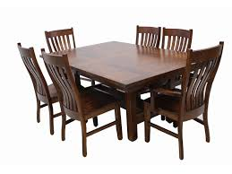 Wood Dining Chairs Trailway Wood Stm 7 Pc Dining Set Includes Table 4 Side And 2