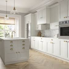 white shaker kitchen base cabinets shaker base cabinets in vanilla white kitchen the home