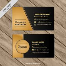 black and gold business cards thelayerfund