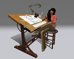 Drafting Table Design Second Marketplace Couples Animated Drafting Table Yacht