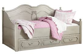 Daybed With Storage Gray Abrielle Twin Day Bed With Storage View 2 Daybeds