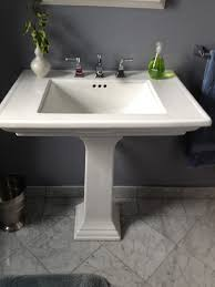 How To Remove A Bathroom Vanity Replace Bathroom Vanity With Pedestal Sink How To Remove A
