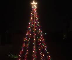 10ft christmas tree 10 ft outdoor christmas light tree decoration 6 steps with pictures
