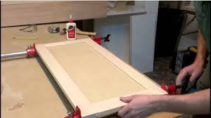 Shaker Cabinet Door Construction Shaker Kitchen Cabinet Plans Flat Cabinet Door Makeover How To