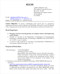objective for a resume examples general resume objective sample 9 examples in pdf