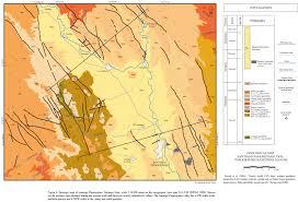 Durango Mexico Map Volcanismo Cenozoico Y Extensión Al Noroeste De La Mesa Central