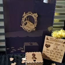 wedding guest book alternativejack u0026 sally nightmare before