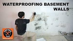 waterproofing basement walls with drylok paint home repair tutor