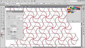 pattern drawing illustrator how to create a geometric pattern illustrator tutorial youtube