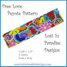 free beaded bracelet pattern images Swirly dragonflies free peyote stitch pattern jpg