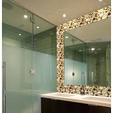 image of mosaic mirror tiles for walls mirror wall tiles canada