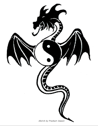 tribal chinese dragon tattoos these classy yin yang tattoo designs will inspire you to get inked