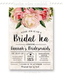 bridal lunch invitations bridal tea party invitations marialonghi