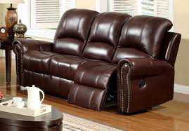 Recliner Leather Sofa Set Luxury Reclining Leather Sofa 49 For Your Living Room Sofa