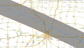 Map Of Nebraska Cities Total Solar Eclipse 2017 Maps Of The Path