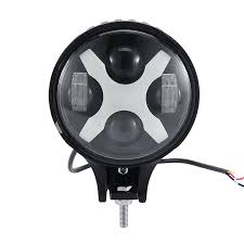 round led lights for jeep auxbeam 6 inch 60w cree round x shape drl led driving light
