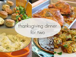 thanksgiving dinner for two 3 steps with pictures