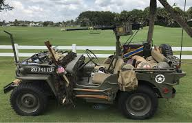 ww2 jeep classic world war ii era jeep to be displayed at ponte vedra auto