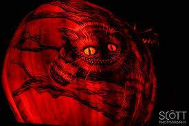 cheshire cat pumpkin carving jack o lantern spectacular 2014 2
