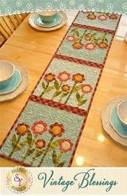 patchwork watermelon table runner pattern summer design table