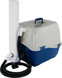 whisker vent odorless litter box through wall venting system