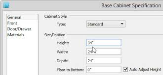 Cabinet Toe Kick Dimensions Creating Barrier Free Cabinets