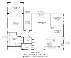 Master Suites Floor Plans Regency At Monroe The Merrick Home Design