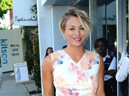 why kaley cucoo cut her hair kaley cuoco s haircut inspired by michelle williams fashion