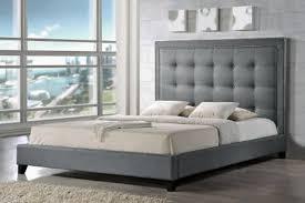 grey upholstered headboard u2013 home improvement 2017 grey fabric