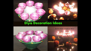 diwali diya decoration ideas diy diwali decoration at home
