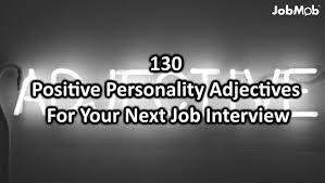 job interview personality questions 130 powerful personality adjectives for your next job interview